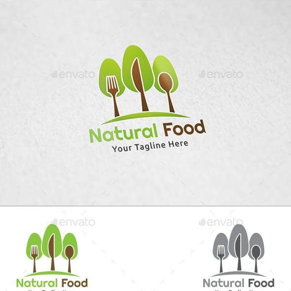 Natural Food - Logo Template
