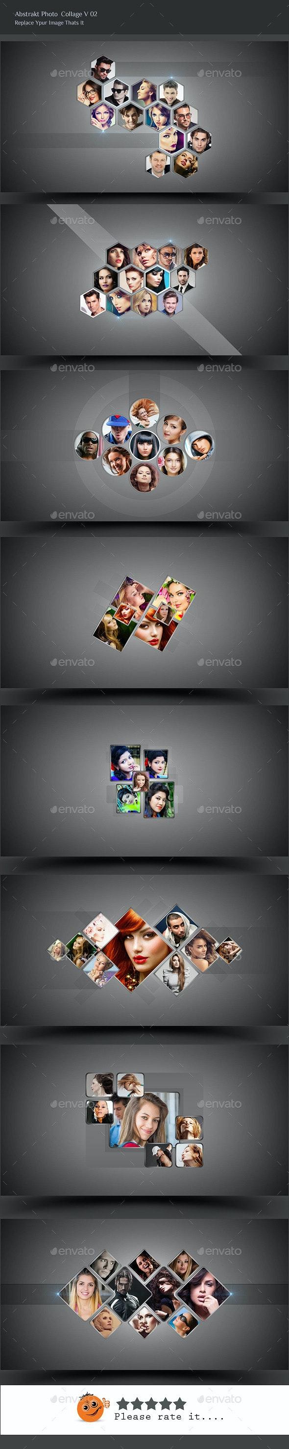 Abstrakt Photo Collage V02 - Photo Templates Graphics