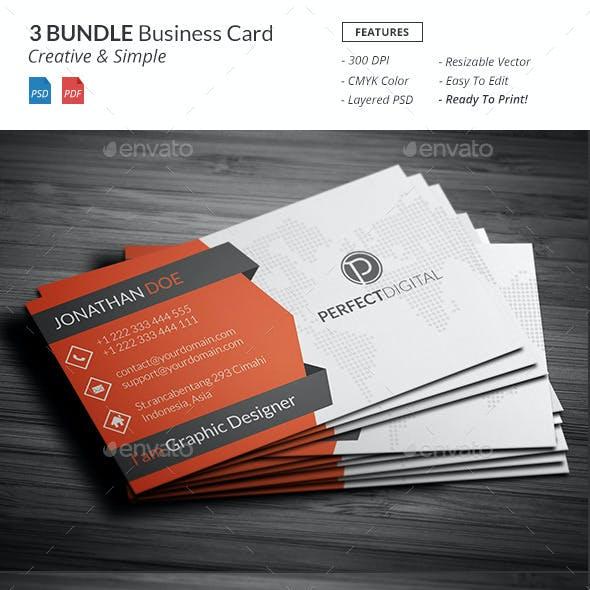 Bundle - Business Card Template