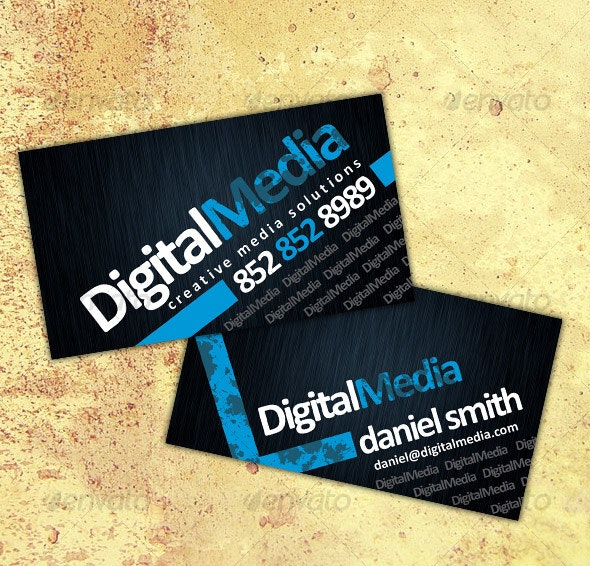 Business Card No2 - Creative Business Cards