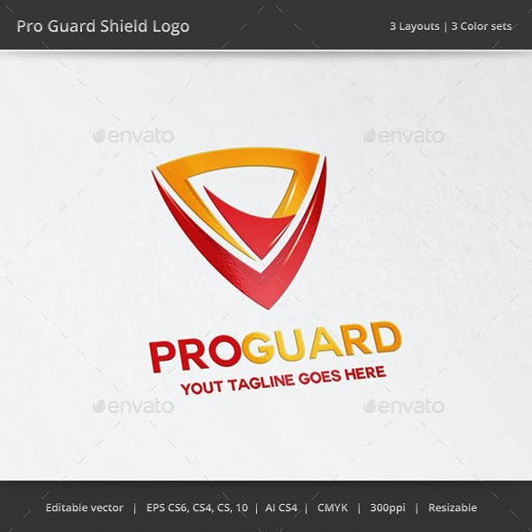 Pro Guard Shield Logo