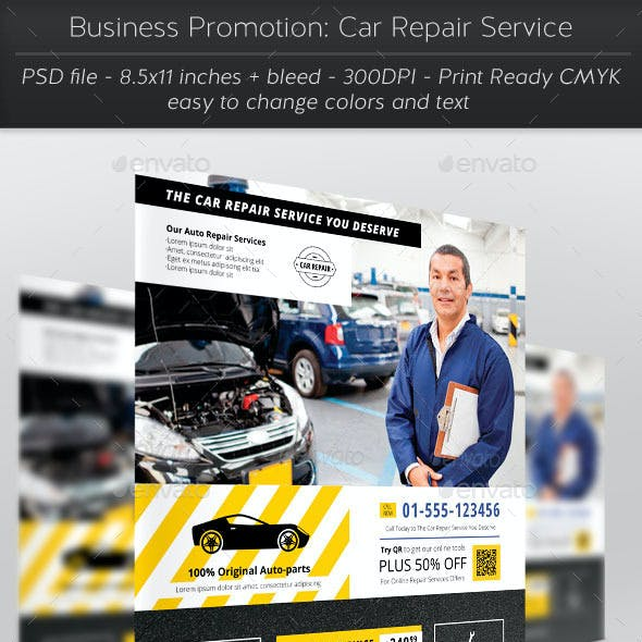 Business Promotion: Car Repair Service
