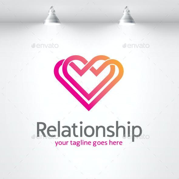 Relationship - Love Logo