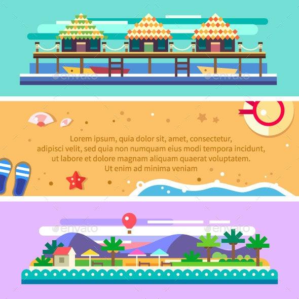 Beach Summer Landscape - Landscapes Nature