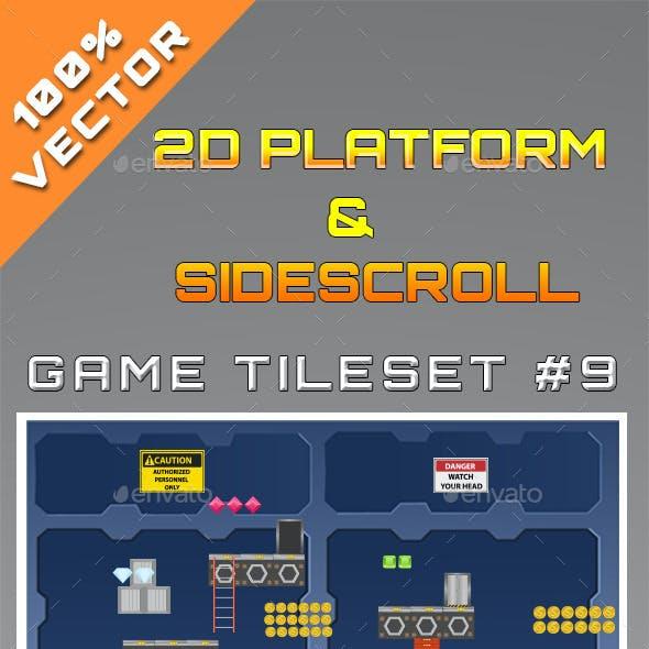 2D Platform & Sidescroll Tileset #9