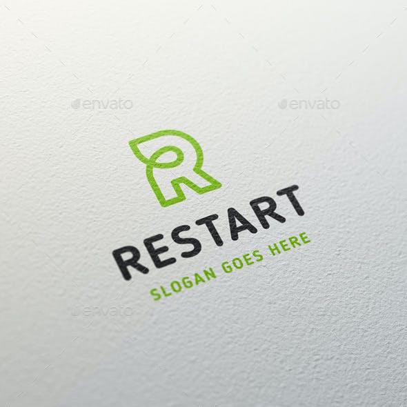 Restart • Letter R Logo Template
