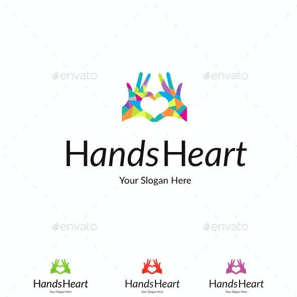 Hands Heart Love Logo