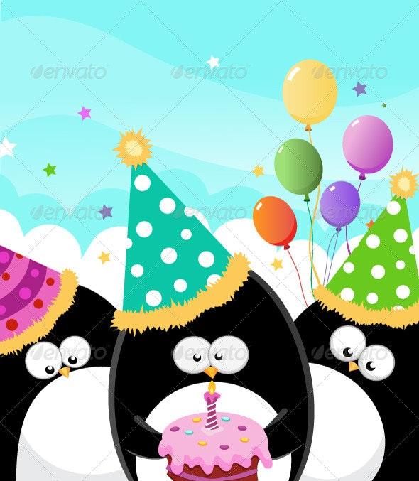 Happy Birthday - Animals Characters
