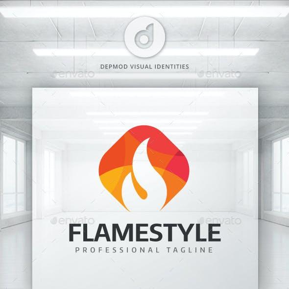 Flame Style Logo