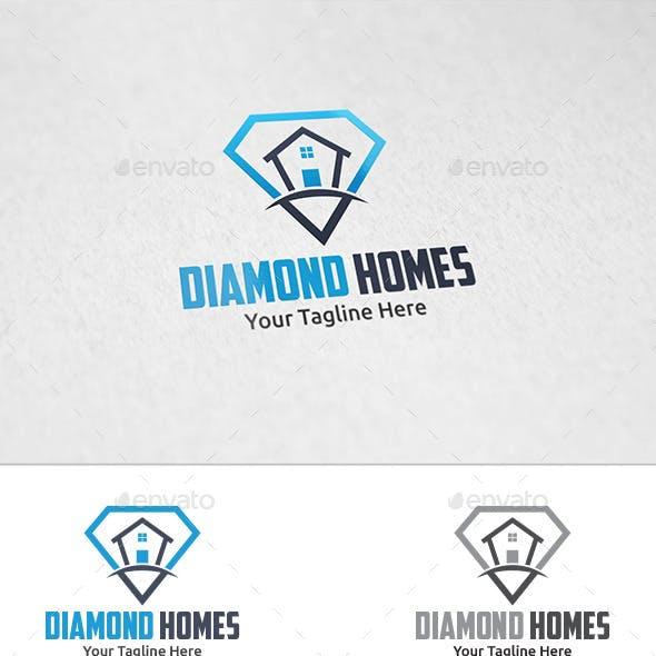 Diamond Homes - Logo Template