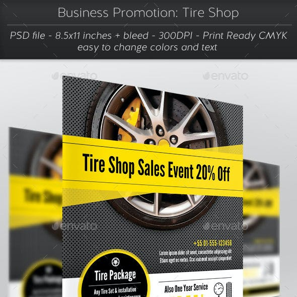 Business Promotion: Tire Shop