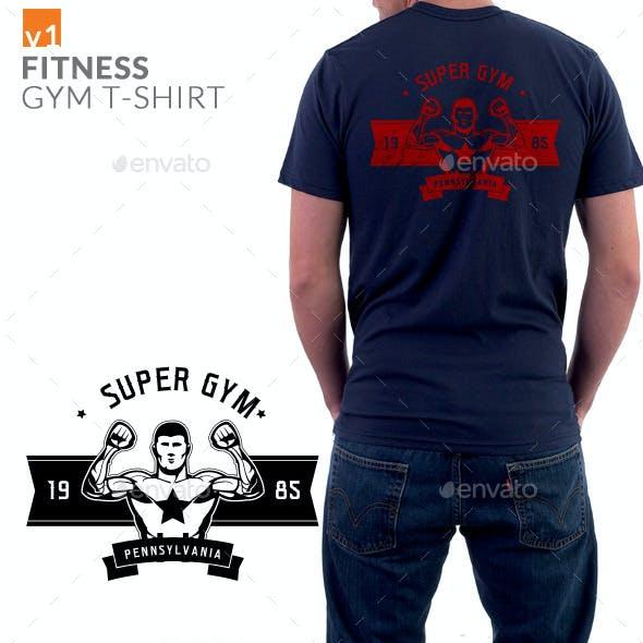 Fitness Gym T-shirt