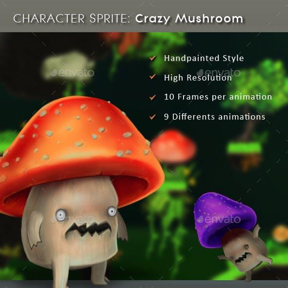 Character Sprite: Crazy Mushroom