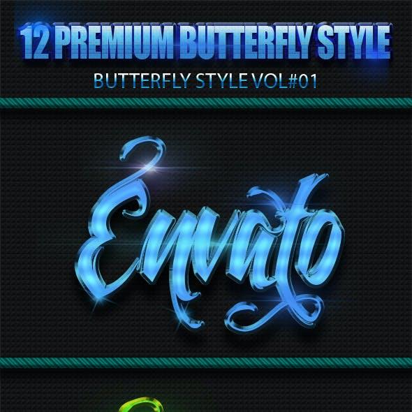 12 Premium ButterFly Styles Vol 1