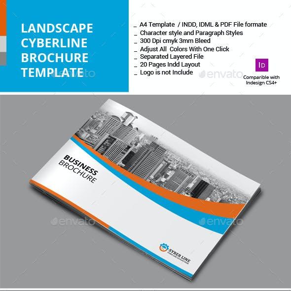 Landscape Syberline Brochure Template