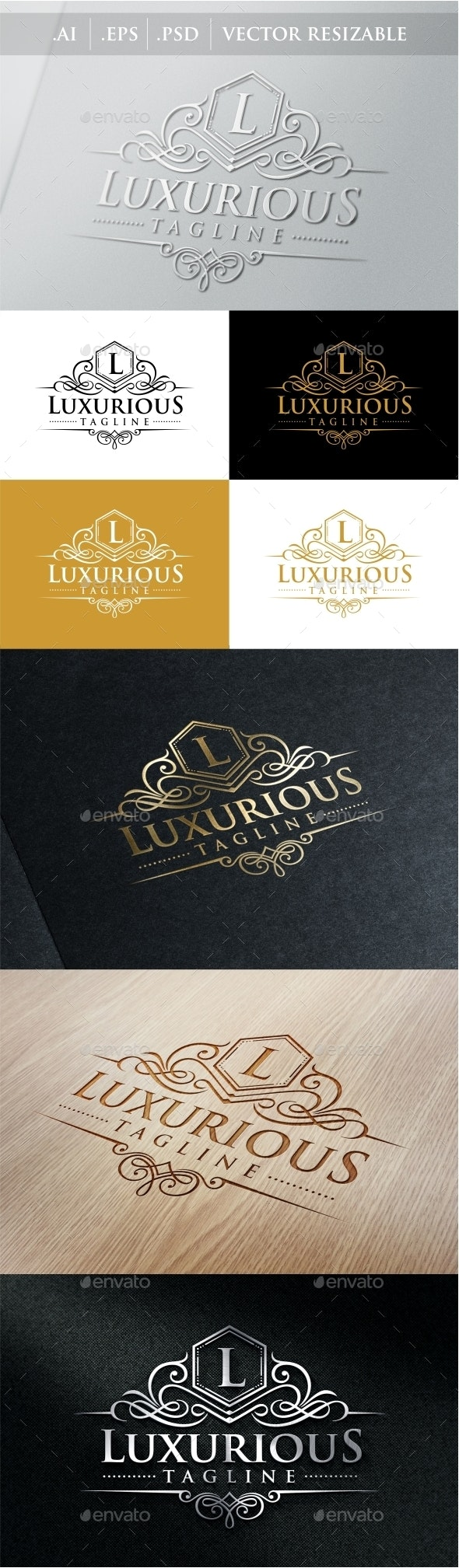 Luxurious Royal Logo - Crests Logo Templates