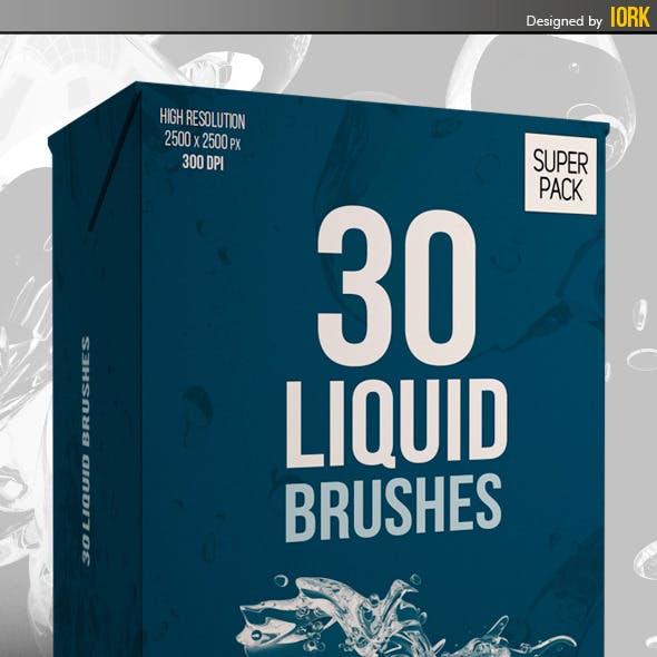 30 Liquid Brushes