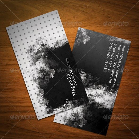 Creative Minimal Grunge Business Card