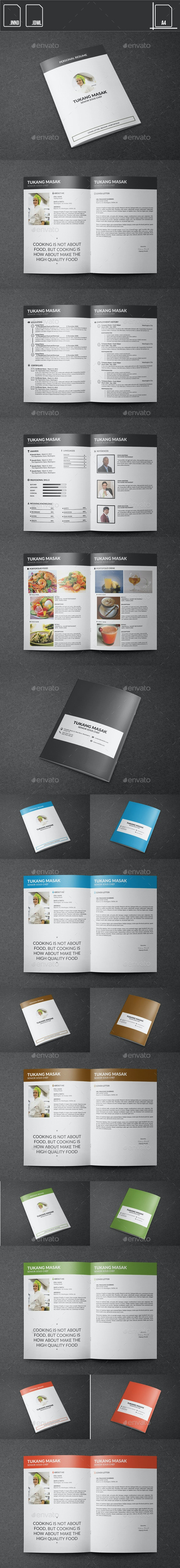 Resume Chef Booklet - Resumes Stationery