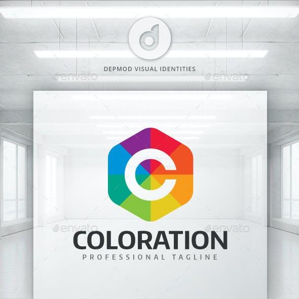 Coloration Logo