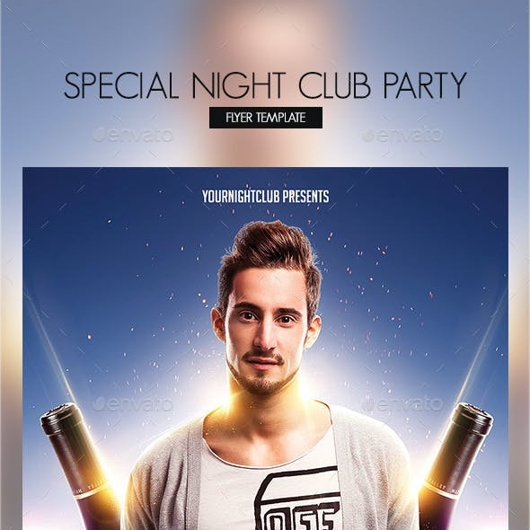 Special Night Club Party Flyer