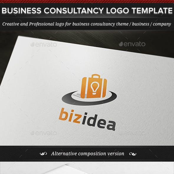 BizIdea Business Consultancy Logo Template