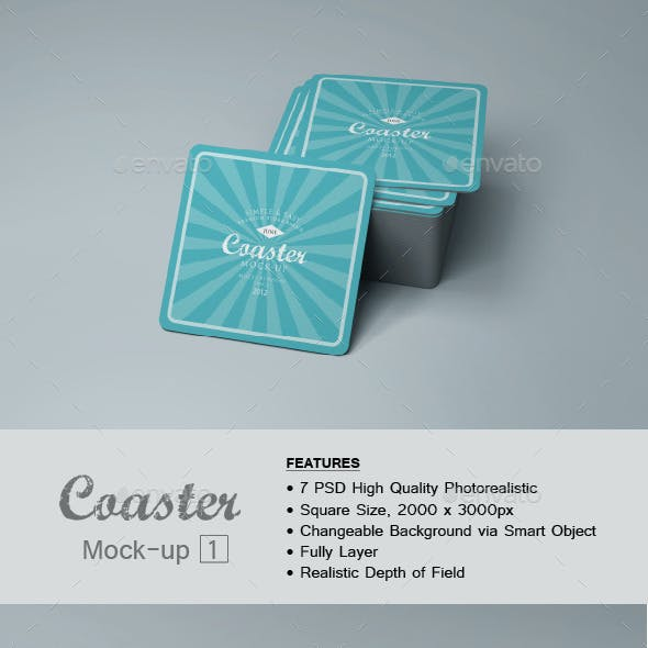 Coaster Mock-up 1