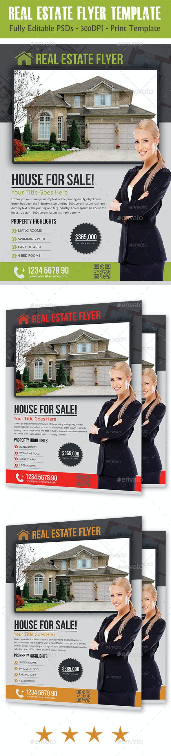Real Estate Flyer Temp - Corporate Flyers