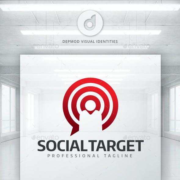 Social Target Logo