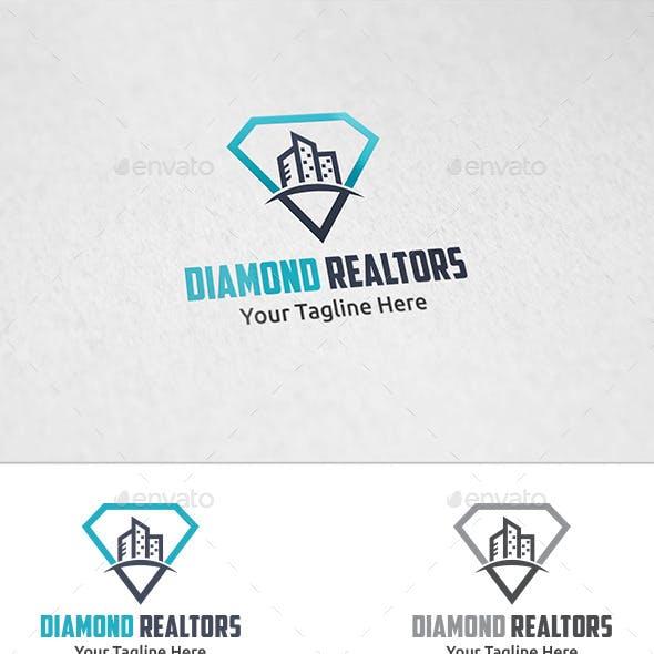 Diamond Realtors - Logo Template