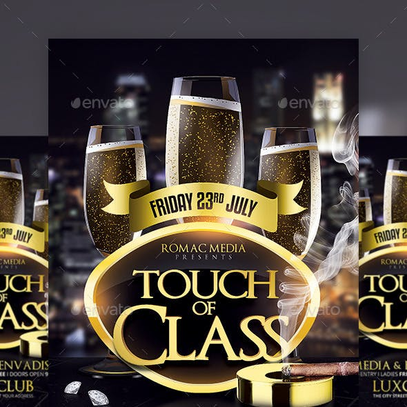 Touch of Class Party