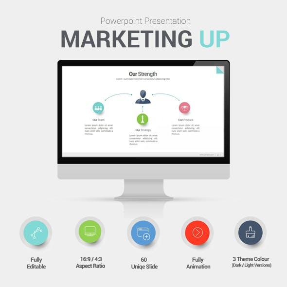 Marketing Up Powerpoint Presentation