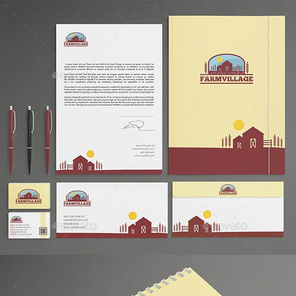 Agriculture Stationery