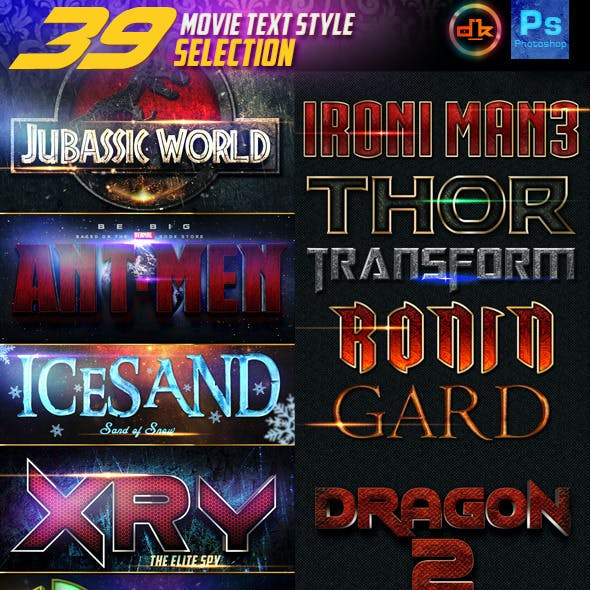 39 Movie Style Selection Bundle