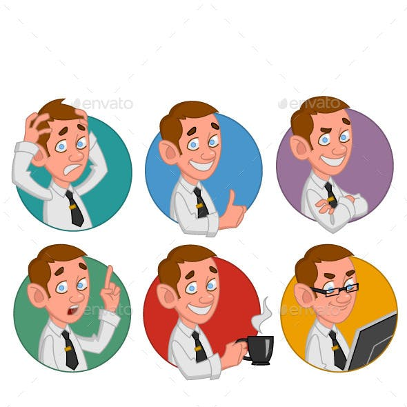 Avatars of Office Workers