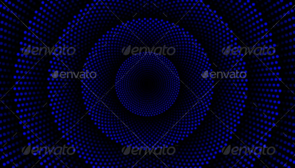 Blue Spiral Background Pattern - Backgrounds Graphics