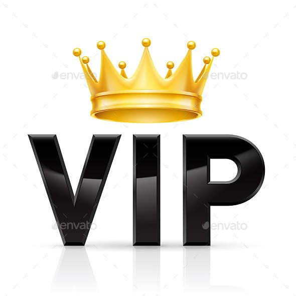 VIP Golden Crown
