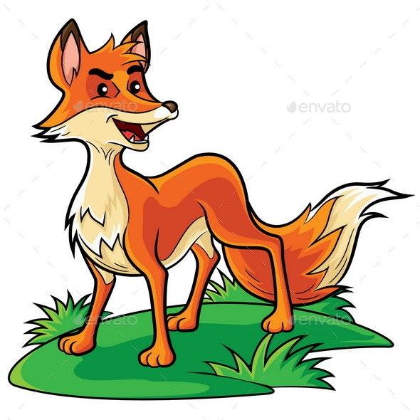 Fox Cartoon - Animals Characters