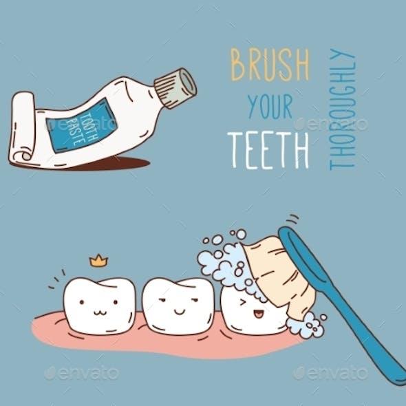 Comics about Dental Diagnostics and Treatment