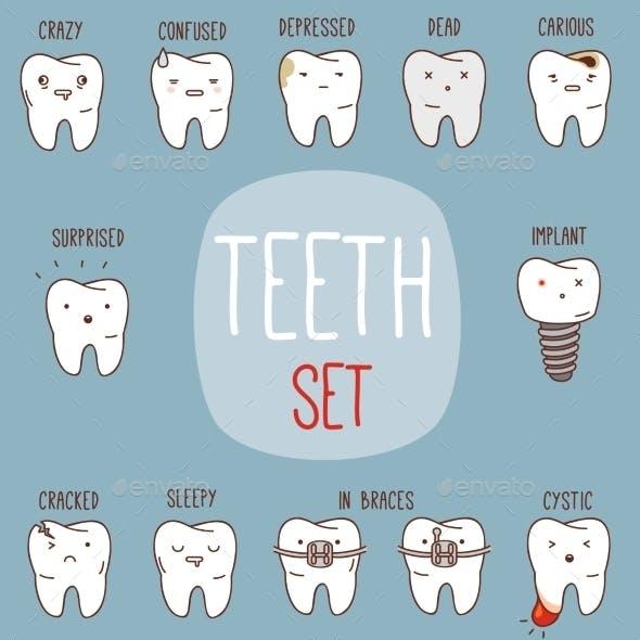 Teeth Treatment Set