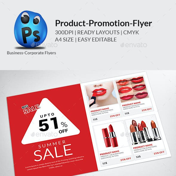 Big Sale Promotion Flyers Templates