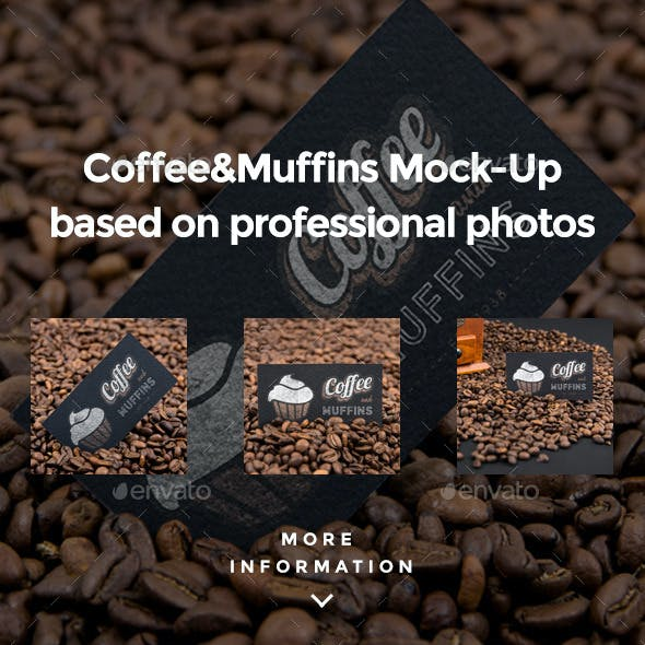 Coffee & Muffin Mock-up