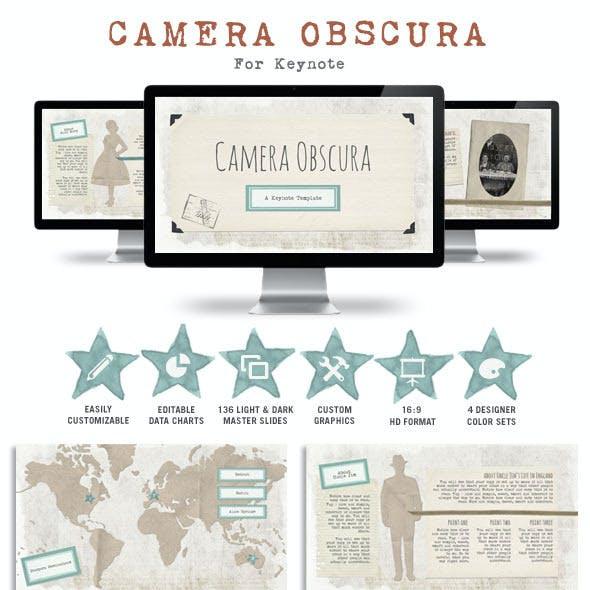 Camera Obscura Keynote Presentation Template