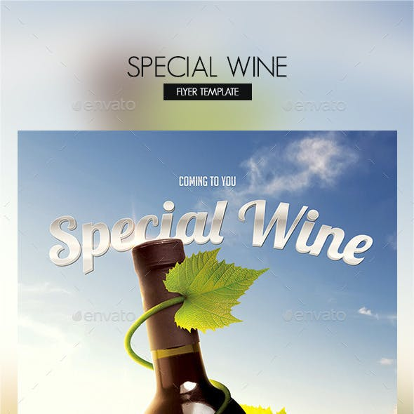 Special Wine Party Flyer