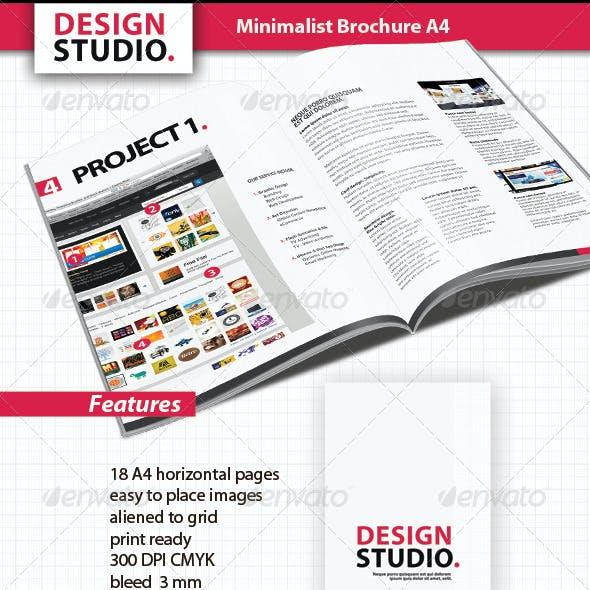 Minimalist Brochure A4