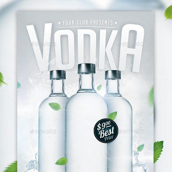 Vodka Party Flyer Template