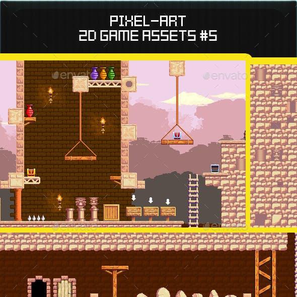 2d Pixel Art Game Assets #5