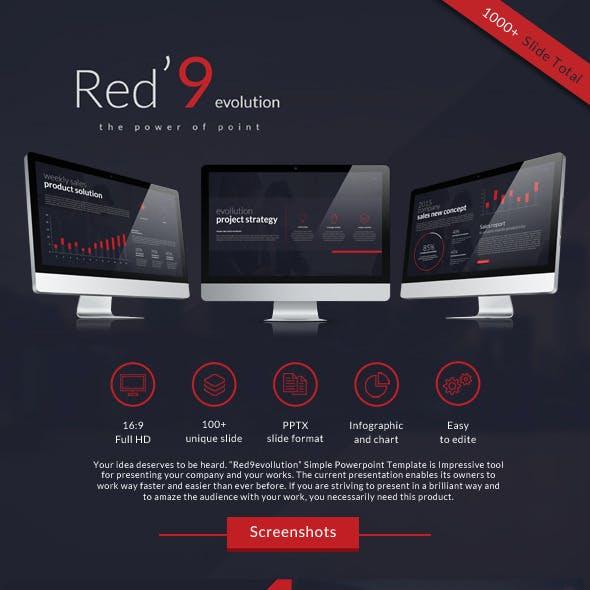 Red'9evolution powerpoint