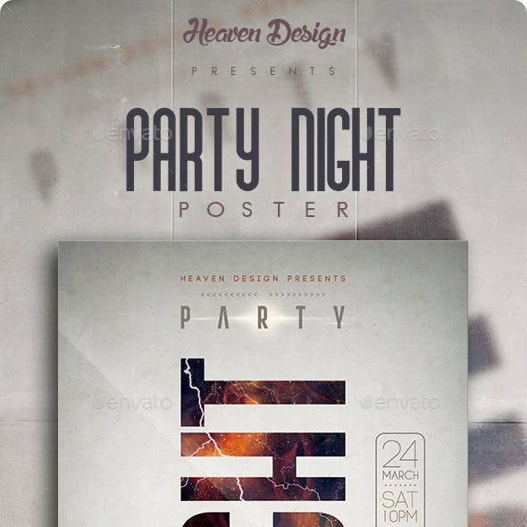 Party Night | Poster