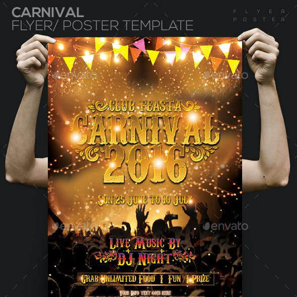 Carnival 2016 Party Flyer / Poster